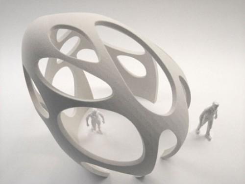 3D–принтер напечатает дома и скульптуры.